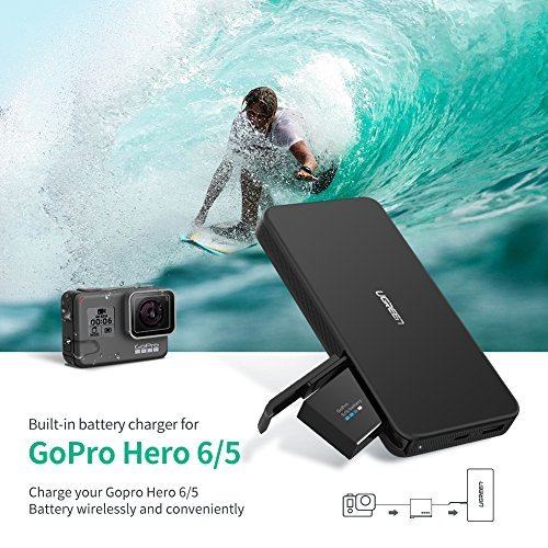Can I charge a gopro with an external power pack? (FAQ) 1