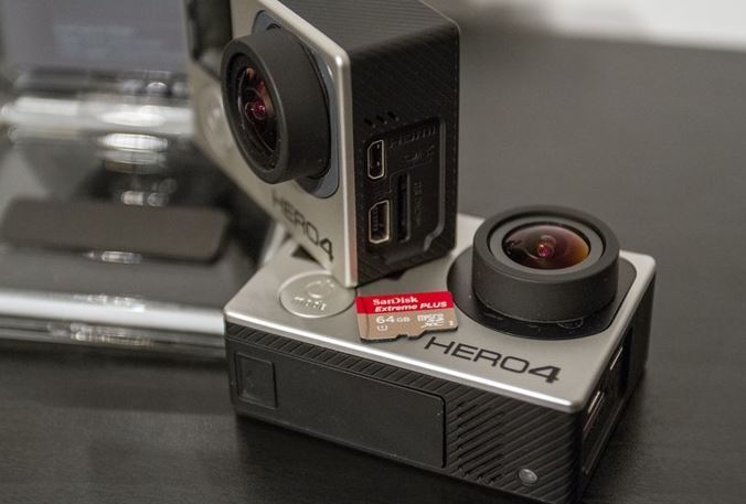 Recommended SD Memory Card for Gopro Hero 4 Black and Silver 2