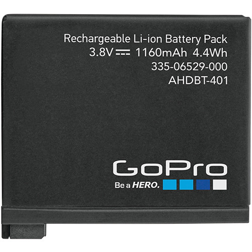 Top 3 Gopro Hero 4 Black and Silver Battery (VIDEO) 2