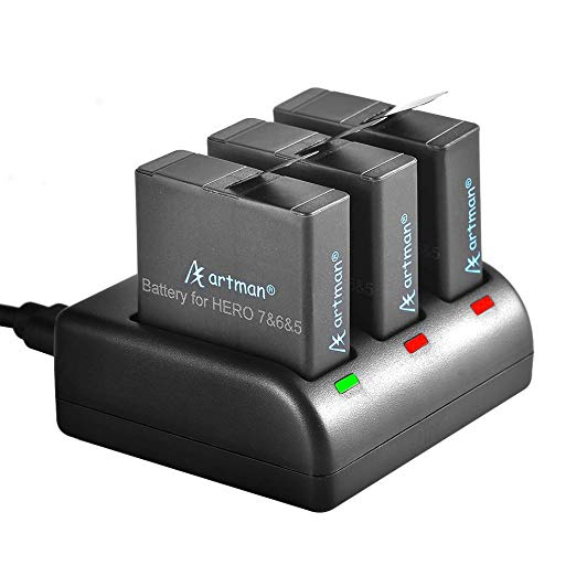 best battery gopro to charge while recording